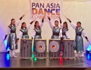 Alicia Kay, Elizabeth Ahn, Joyce Kim, Nanta(Hannah Lee, Lesley Kim & Terra lee) at Pan Asia Dance Competition