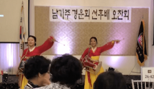 Audrey Shim & Kaitlyn Kim at Garden Sweet Hotel for Kyunggi Girls High School Luncheon