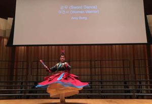Colburn School, Zipper Hall, Sword Dance by Amy song