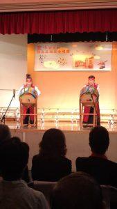 Debbie Yoo, left , Myoungae Lee at El Monte 중국 문화원 copy