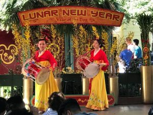Disneyland - Giselle Kim, left, & Minji Park(Janggo Chum)