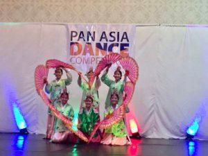 Fan Dance ( Angela Kwon, Ellen Han, Janice Ha,Kaylee Hong, Sarah Jung & Yevin Lee)