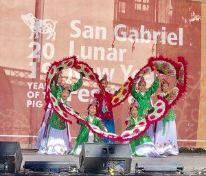 Fan Dance -San Gabriel Lunar New Year