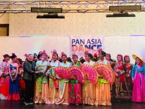 Fan Dance team won Platinum award