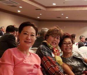 Hiza Yoo, left, Dr. Monica Ryoo & Dr. Susan Chung