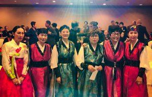 Julia Kim, left Goonja Cho, Hiza Yoo, Dr. Monica Ryoo, Dr. Susan Chung & Clara Kim