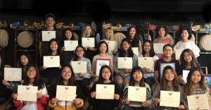 YKCC 임원 & 춤마니 봉사상 시상 10-28-2018 1